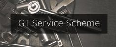 Web banner for the GT Service Scheme, part of our Service page on the GT website