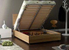 diy platform bed frame with storage