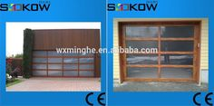 sliding up garage glass door/frosted glass garage door/fold up transparent…