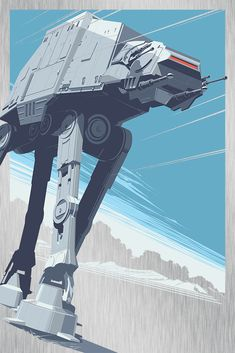 """AT-AT"" Metal Variant by Craig Drake - Hero Complex Gallery"