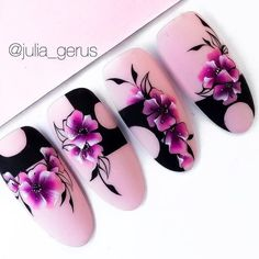 Summer nail art 727683252280027739 - Source by adonis_evin Uñas One Stroke, One Stroke Nails, Colored Acrylic Nails, Best Acrylic Nails, Elegant Nail Designs, Beautiful Nail Designs, Nail Art Blog, Gel Nail Art, Nail Art Instagram