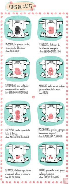 RN cudados: heces educación maternal