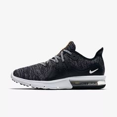 2 Women's Nike air Maxx sequent for Sale in Tacoma, WA - OfferUp Black Running Shoes, Black Shoes, Ar Max, Tenis Nike Air Max, Air Max Sneakers, Sneakers Nike, Types Of Shoes, Superman, Nike Shoes