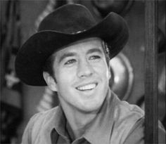 Clu Gulager - The Tall Man NBC-TV western 1960-1962 also starring Barry Sullivan.  This pin  comes from S1Ep2 'Forty Dollar Boots'