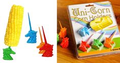 Uni-Corn Corn Holders | Cool Shit You Can Buy - Find Cool Things To Buy