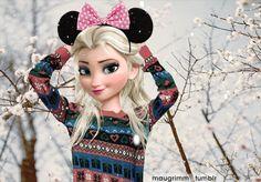 Elsa Navidad Moderna