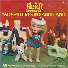 Heidi Pocketbook Doll: Adventures in Fairyland , Majorette Records - Bing Images