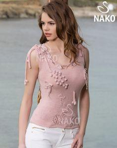 KM-050 Comfort Stretch Bluz / / Kadın / MODELLER / Nako
