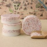 Home Spa: Pink Salt and Shea Bath Bar on Soap Queen at http://www.soapqueen.com/bath-and-body-tutorials/melt-and-pour-soap/home-spa-pink-salt-shea-bath-bar/