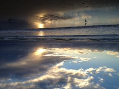 Nobby beach sunrise 13 February 2013