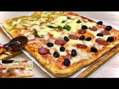 Mary Berry Desserts, Pizza Fina, Focaccia Pizza, Pizza Dough, Hawaiian Pizza, I Love Food, Vegetable Pizza, Cupcake Cakes, Nom Nom