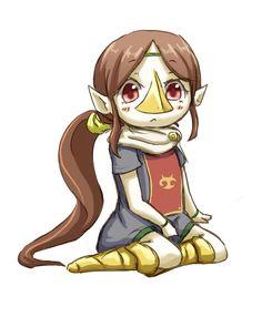 メドリ by とい - Medli, one of the most underrated Legend of Zelda characters ever. She's awesome