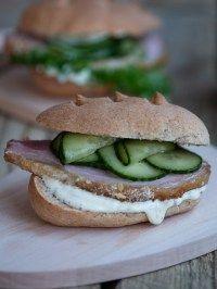 Opskrifter | Marinas mad Salmon Burgers, Ethnic Recipes, Food, Essen, Meals, Yemek, Eten