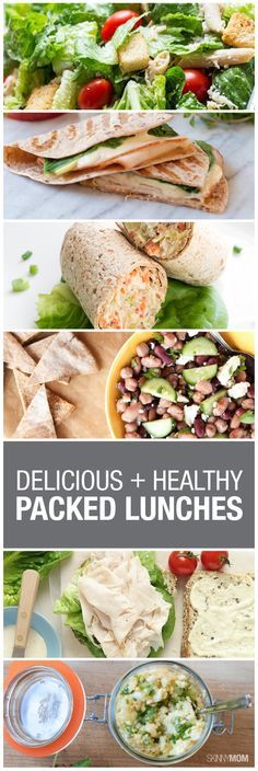 Tired of running out for your 30 minute lunch break to grab some greasy fast food? Check out these 10 healthy lunch options.
