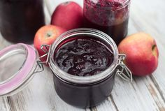 and Apple Jam Blueberry and Apple Jam - easy and delicious recipeJam (disambiguation) Jam is a type of fruit preserve. Jam may also refer to: Apple Jelly, Apple Jam, Fruit Preserves, Types Of Fruit, Danish Food, Blueberry Jam, Vegetable Drinks, Jam Recipes, Recipies