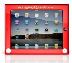 If It's Hip, It's Here: The Official Etch A Sketch iPad Case From Headcase.