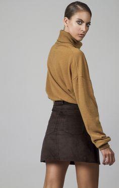 Corduroy A line retro skirt. Corduroy, Mini Skirts, Fashion, Moda, Fashion Styles, Fashion Illustrations