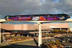 Las Vegas Monorail and Convention Center