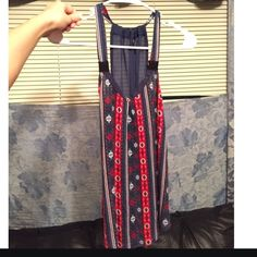 Red, White, Blue Tank great condition. wouldn't buy if you have very big boobs... Tops Tank Tops