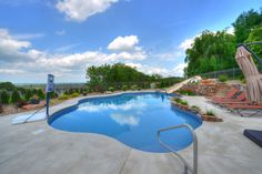 Great in ground pool for spending Summer afternoons. Camp Hill, In Ground Pools, Carlisle, Spa, Swimming, Outdoor Decor, Summer, Swim, Summer Time