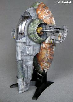 Star Wars: Slave 1 - Display Modell, Fertig-Modell ... https://spaceart.de/produkte/spa005.php