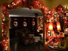 Christmas foyer. Natoure Design Company