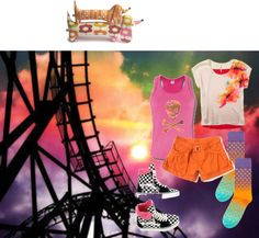 A Day at Cedar Point, created by coconotta on Polyvore