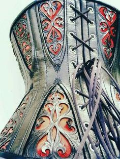 Corset..beautiful tooling