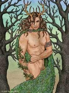 "Cernunnos, god of animals.Cernunnos is the conventional name given in Celtic studies to depictions of the ""horned god"" of Celtic Thor, Loki, Herne The Hunter, Symbole Viking, Pagan Art, Celtic Mythology, Celtic Art, Green Man, Gods And Goddesses"