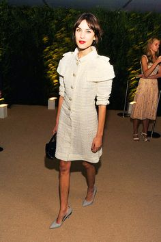 Alexa Chung at the Museum of Modern Art 2013 Film benefit: A...