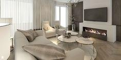 Salon styl Nowojorski - zdjęcie od MOCO Architecture - Salon - Styl Nowojorski - MOCO Architecture House Design, Couch, Furniture, Home Decor, House Decorations, Living Rooms, Google, Kitchen, Elegant Dining