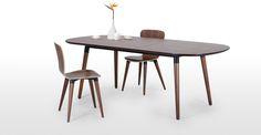 Un souffle nordique se faufile dans votre salle à manger avec la collection Edelweiss fonctionnelle de style scandinave.