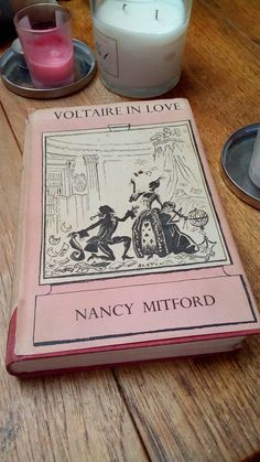 First edition Nancy Mitford, Voltaire in Love, 1957 book. Nancy Mitford, Unique Jewelry, Handmade Gifts, Books, Etsy, Vintage, Design, Decor, Kid Craft Gifts