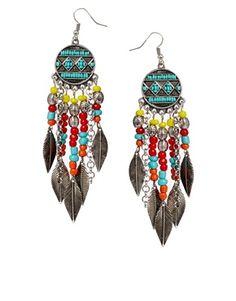 Image 1 ofASOS Festival Chandelier Earrings