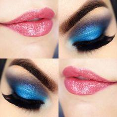 Eye Color Makeup Chart Eyeshadows 40 Ideas For 2019 Soft Eye Makeup, Glitter Eye Makeup, Beautiful Eye Makeup, Simple Eye Makeup, Eye Makeup Tips, Kiss Makeup, Makeup Goals, Beauty Makeup, Cinderella Makeup