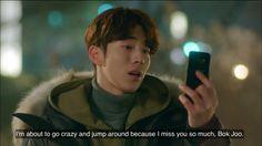 Korean Drama List, Korean Drama Quotes, Tv Quotes, Movie Quotes, Nam Joo Hyuk Lockscreen, Weightlifting Fairy Kim Bok Joo Funny, Weighlifting Fairy Kim Bok Joo, Fairy Quotes, Kim Book