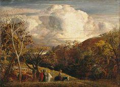 The Bright Cloud. Samuel Palmer