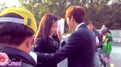BOTH are FAVS!  They are both BEAUTIFUL!  Park Shinhye & Lee Minho | Funny cute Moments ♥