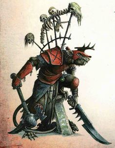 Warhammer Fantasy,Warhammer FB,фэндомы,Skaven,Queek Headtaker,Clan Mors,Dave Gallagher