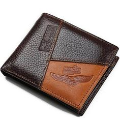 Genuine Men Wallets Coin Pocket Zipper Real Leather High Quality