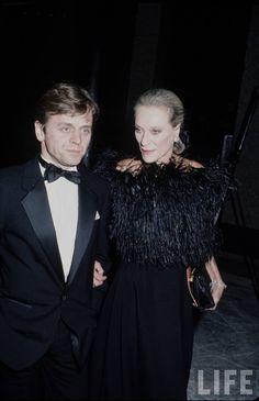 Mikhail Baryshnikov and Nan Kempner