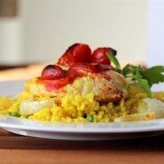 Biryani with Yogurt Marinated Chicken - Allrecipes.com