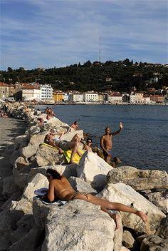 Tip na září u moře: slovinská riviéra a nezapomenutelný Piran - iDNES.cz