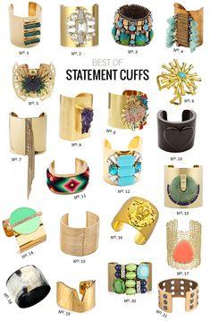 // Best Of: Statement Cuff Bracelets by Modern Eve