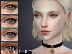 Eyes: Eyebags 08 by Bobur from The Sims Resource Sims 4 Cc Eyes, Sims 4 Cc Skin, The Sims, Sims Cc, Sims 4 Cc Makeup, Happy Skin, Moisturizer With Spf, Combination Skin, Eyeliner