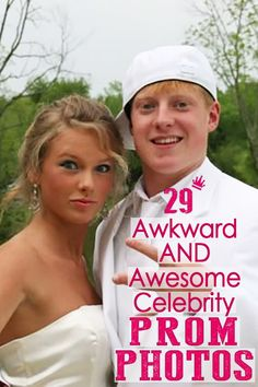 Gloriously Awkward Photos Of Celebrities At Prom