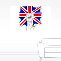 British Power Wall Sticker > British Power > J.P.Gray Artwork Emporium