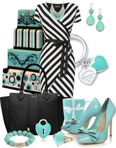 """""""Breakfast At Tiffany's"""" by anna-campos ❤ liked on Polyvore"""