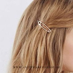 Stilvolles langes Dreieck französische Haarspange Frauen Headwear Hairdress