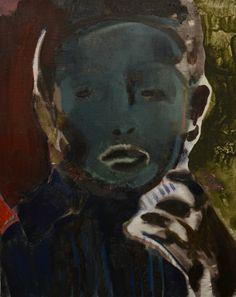 BwGH, oil on canvas, 2014, Anthony Cudahy